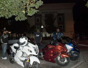 photo of motorcycles