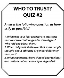How We View Ourselves & Others, Quiz 2 Part 3
