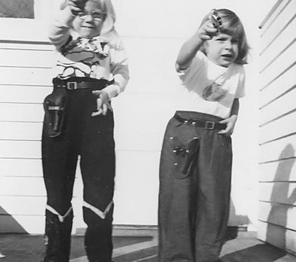 Photo of 1950's kids